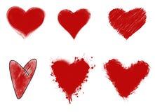 Amore e crepacuore Immagine Stock