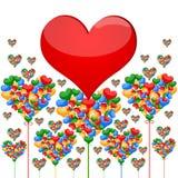 Amore e cuore royalty illustrazione gratis