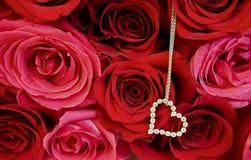 Amore e diamanti Fotografie Stock