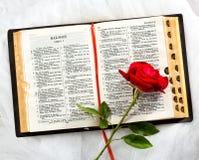 Amore e religione Fotografia Stock Libera da Diritti