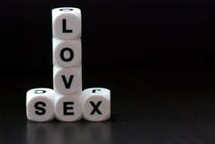 Amore e sesso immagine stock