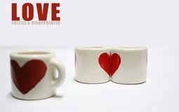 Amore e solitudine Fotografia Stock Libera da Diritti
