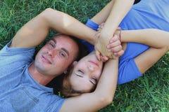Amore e tenerezza Fotografie Stock Libere da Diritti