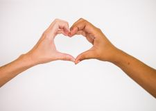 Amore ed insieme Immagini Stock