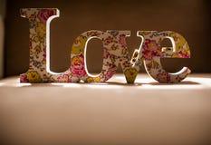 Amore ed unione Fotografia Stock Libera da Diritti