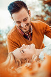 Amore felice Immagine Stock
