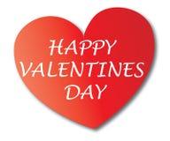 Amore felice di giorno di biglietti di S. Valentino romanzesco illustrazione vettoriale