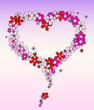 Amore in fiori Immagini Stock