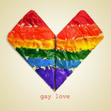 Amore gay Immagini Stock Libere da Diritti