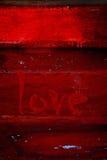 Amore - giorno del biglietto di S. Valentino Immagini Stock