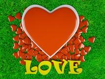 Amore & hearts3 Fotografie Stock