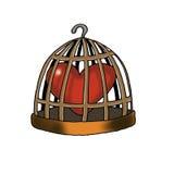 Amore imprigionato Immagine Stock Libera da Diritti