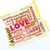 Amore internazionale Fotografia Stock