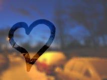 Amore in inverno Immagine Stock