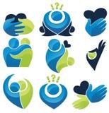 Amore, la gente e comunicazione Immagini Stock Libere da Diritti