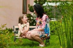 Amore - madre e bambino Fotografie Stock Libere da Diritti