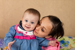 Amore materno Immagini Stock Libere da Diritti