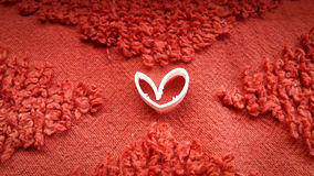 Amore nel colore rosso Fotografia Stock Libera da Diritti