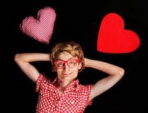 Amore Nerdy Fotografia Stock
