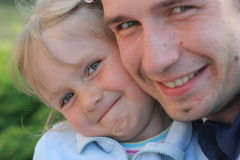 Amore parentale Fotografie Stock Libere da Diritti