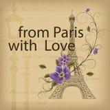 Amore Parigi Immagine Stock