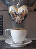 Amore per caffè Fotografie Stock Libere da Diritti