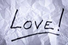 Amore perso Fotografie Stock