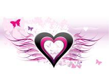 Amore - priorità bassa astratta Fotografia Stock Libera da Diritti