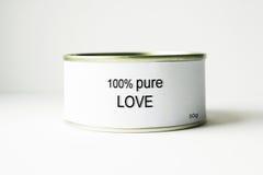 Amore puro di 100% Fotografie Stock Libere da Diritti