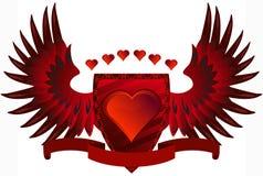 Amore rosso Fotografia Stock