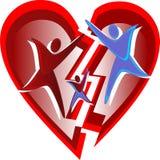 Amore rotto in famiglie? Fotografia Stock