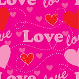 Amore senza giunte Immagine Stock