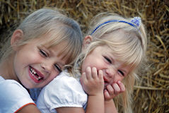 Amore Sisterly Fotografia Stock
