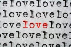 Amore speciale Immagini Stock
