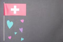 Amore svizzero Fotografie Stock Libere da Diritti