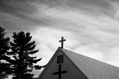 Amore trasversale cristiano di fede di Cristianità Immagini Stock Libere da Diritti