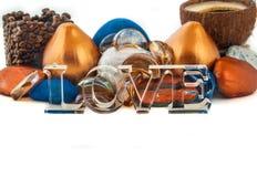 Amore in una carta Immagini Stock