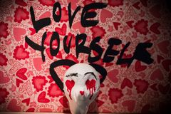 Amore voi stessi immagini stock libere da diritti