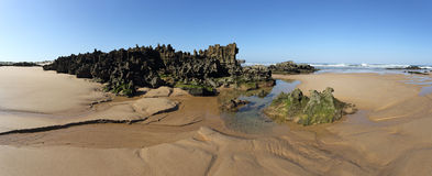 Amoreira beach in South-West Alentejo and Costa Vi Stock Photography