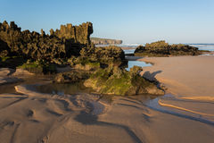 Amoreira beach in South-West Alentejo-Portugal Royalty Free Stock Images