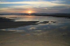 Amoreira beach. Sunset at Amoreira beach, Aljezur, Portugal stock photos