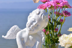 Amorek statua Obraz Royalty Free