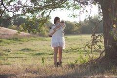 Amores de matriz seu bebê fotos de stock royalty free