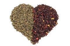 Amores do chá Imagem de Stock