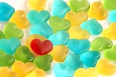 Amores gomosos Imagenes de archivo
