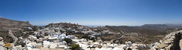 Amorgos Cycladen Griekenland stock afbeelding