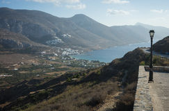 Amorgos, Cyclades, Greece Stock Photography