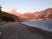 Amorgos, die Kykladen, Griechenland Lizenzfreie Stockbilder