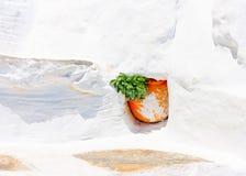 In Amorgos-eiland in Griekenland Royalty-vrije Stock Afbeelding
