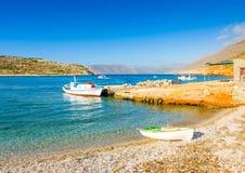 In Amorgos-Insel in Griechenland Stockbilder